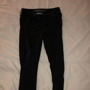 Unworn American Eagle black skinny jeans/jeggings